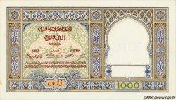 1000 Francs type 1921 MAROC  1921 P.16s pr.NEUF
