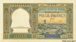 1000 Francs type 1921 MAROC  1921 P.16 SPL