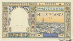 1000 Francs type 1921 MAROC  1929 P.16 NEUF