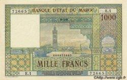 1000 Francs type 1951 MAROC  1951 P.47 pr.NEUF