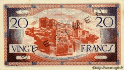20 Francs type 1943 MAROC  1943 P.39s SUP+