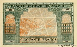 50 Francs type 1943 MAROC  1943 P.40 SUP+