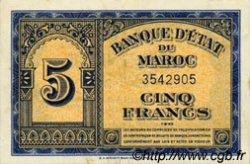 5 Francs type 1943 Américain, 1ère émission MAROC  1943 P.24 SUP