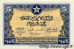 5 Francs type 1943 Américain, 2ème émission MAROC  1944 P.24 NEUF