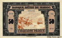 50 Francs type 1943, 1ère émission MAROC  1943 P.26 TTB+