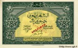 50 Francs type 1943, 1ère émission MAROC  1943 P.26s pr.NEUF