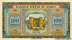 100 Francs MAROC  1943 P.27 pr.NEUF