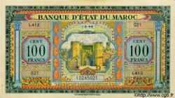 100 Francs type 1943 MAROC  1944 P.27 SPL