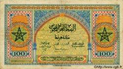 100 Francs MAROC  1944 P.27s TTB