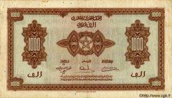 1000 Francs type 1943, 1ère émission MAROC  1943 P.28 TTB