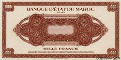 1000 Francs type 1943, 1ère émission MAROC  1943 P.28 NEUF
