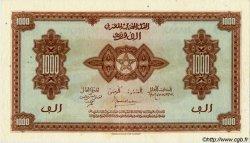 1000 Francs type 1943, 3ème émission MAROC  1944 P.28 TTB+