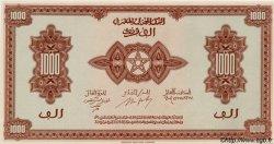 1000 Francs type 1943, 3ème émission MAROC  1944 P.28 NEUF