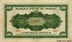 5000 Francs type 1943 MAROC  1943 P.32 TTB