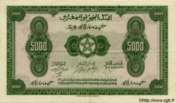 5000 Francs type 1943 MAROC  1943 P.32s SUP