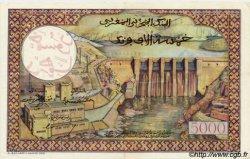 50 Dirhams sur 5000 Francs MAROC  1953 P.51 SUP