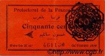 50 Centimes MAROC  1919 P.05c SUP
