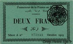 2 Francs MAROC  1919 P.07a NEUF