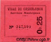 0,25 Franc MAROC  1919 P.- NEUF