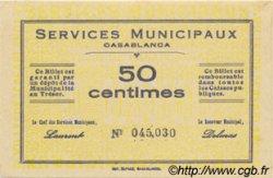 50 Centimes MAROC  1919 P.- NEUF