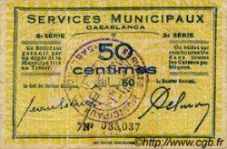 50 Centimes MAROC  1919 P.- TB+