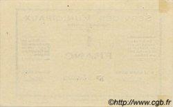 1 Franc MAROC  1919 P.- SPL