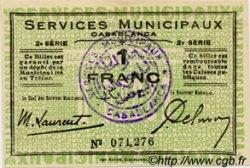 1 Franc MAROC  1919 P.- SUP