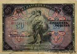 50 Pesetas MAROC  1906 P.- TB+