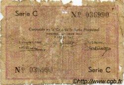 1 Franco MAROC  1942 P.- AB