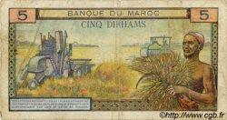 5 Dirhams MAROC  1963 P.53b B+