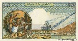 50 Dirhams MAROC  1965 P.55a pr.NEUF