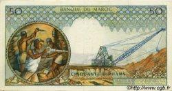 50 Dirhams MAROC  1966 P.55b SUP
