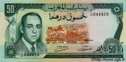 50 Dirhams MAROC  1970 P.58a NEUF