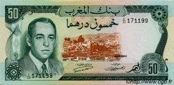 50 Dirhams MAROC  1970 P.58a pr.NEUF