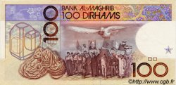 100 Dirhams MAROC  1991 P.65a SUP à SPL