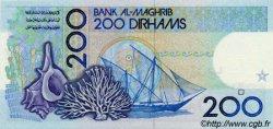 200 Dirhams MAROC  1991 P.66a NEUF