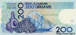 200 Dirhams MAROC  1991 P.66c NEUF