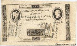 25 Livres FRANCE  1792 Laf.147 SUP+