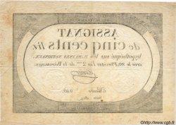 500 Livres FRANCE  1794 Laf.172 TTB à SUP