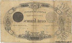100 Francs 1848 définitif transposé FRANCE  1856 F.A25.01 B à TB