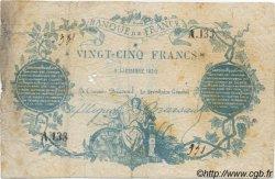 25 Francs CLERMONT FERRAND Faux FRANCE  1871 F.A44.01 TB