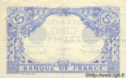 5 Francs BLEU FRANCE  1913 F.02.21 SUP