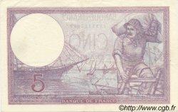 5 Francs VIOLET modifié FRANCE  1940 F.04.18 SUP