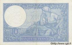 10 Francs MINERVE modifié FRANCE  1940 F.07.17 SUP+