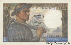 10 Francs MINEUR FRANCE  1949 F.08.22 SUP+