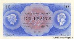 10 Francs NON ÉMIS FRANCE  1945 P.126A NEUF
