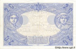20 Francs BLEU FRANCE  1912 F.10.02 SUP+