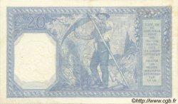 20 Francs BAYARD FRANCE  1917 F.11.02 SUP à SPL