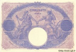 50 Francs BLEU ET ROSE FRANCE  1914 F.14.27 SUP+