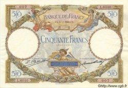 50 Francs LUC OLIVIER MERSON FRANCE  1930 F.15.04 pr.SPL